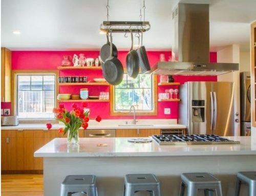 Warm Toned & Trendy West Los Angeles Kitchen