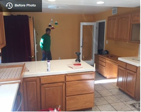 Open Concept Kitchen Design -BEFORE - Woodland Hills Kitchen - New Generation Improvements
