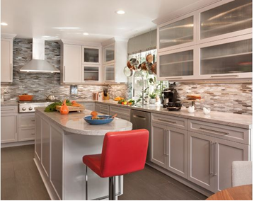 Open Concept Kitchen Design - Woodland Hills Kitchen - New Generation Improvements