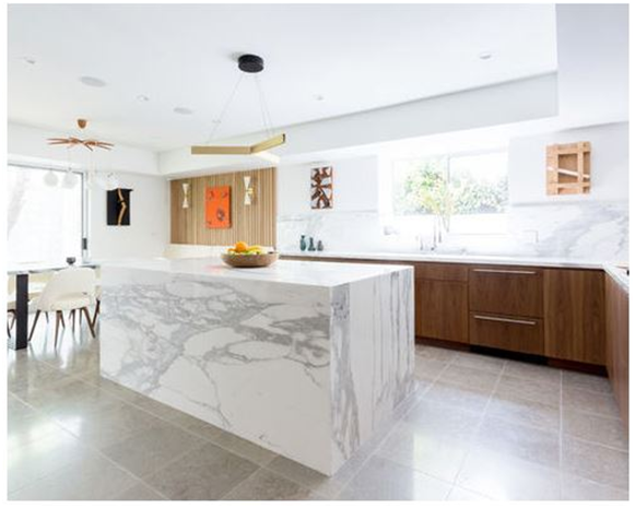 Santa Monica Contemporary Kitchen Remodel - New Generation Home Improvements